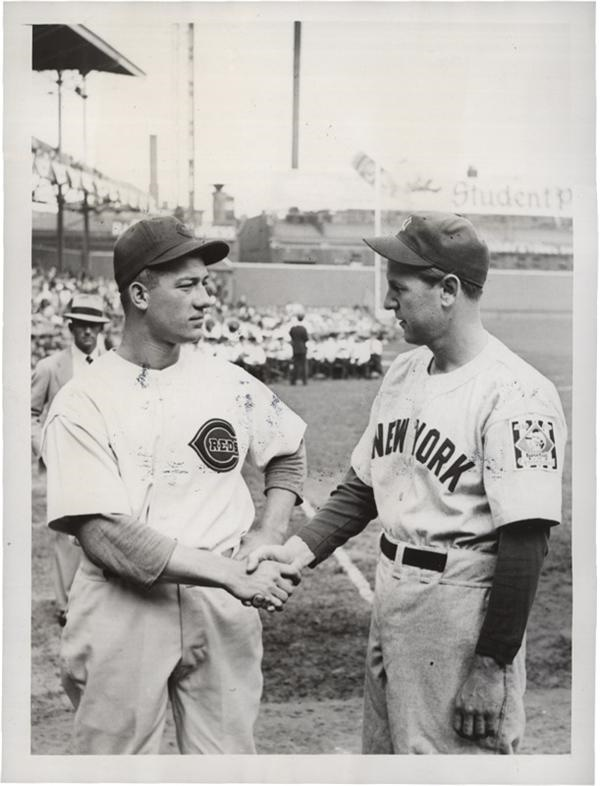 1939 World Series Pitchers from SFX Archives with Lefty Gomez