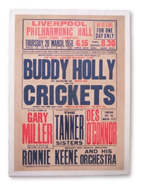 Buddy Holly - April 2001