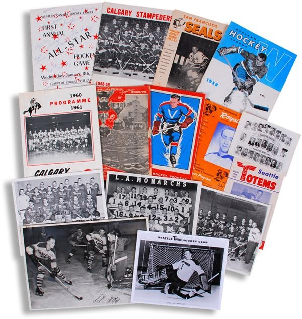Memorabilia Hockey - February 2008 Internet