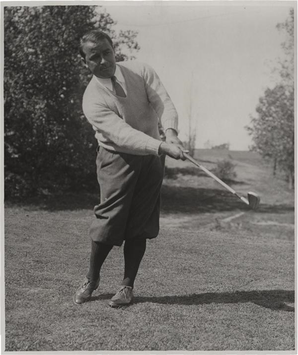 Amazing Gene Sarazen Oversized Photo from SFX Archives (1930)