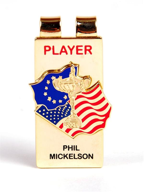 2001 Phil Mickelson Ryder Cup Player Money Clip (1)