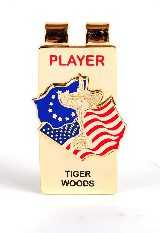 2001 Tiger Woods Ryder Cup Player Money Clip (1)