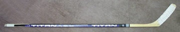 1994-95 Peter Forsberg Game Used Rookie Stick