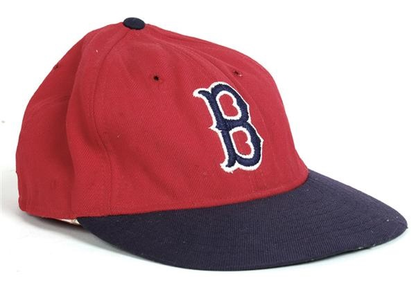 1970s Jim Rice Boston Red Sox Game Worn Cap