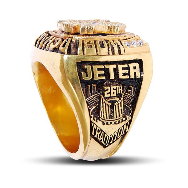 2000 New York Yankees Derek Jeter Championship Sample Ring