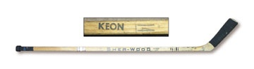 1970's Dave Keon Game Used Stick
