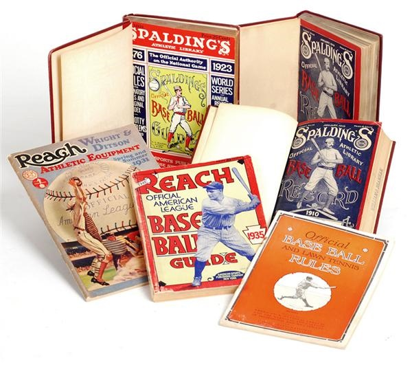 1910-1930s Baseball Equipment Catalogs and Guides