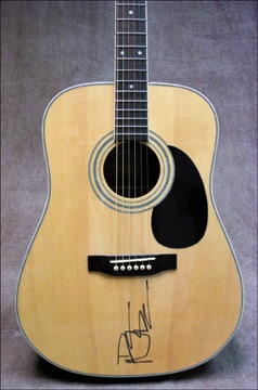 Dave Matthews Acoustic Signed Guitar