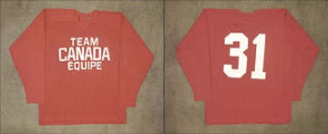 1972 Canada Russia Series Practice Sweater