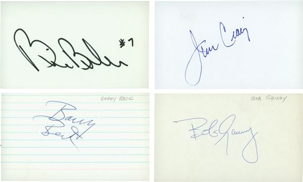 Hockey Greats Signed 3