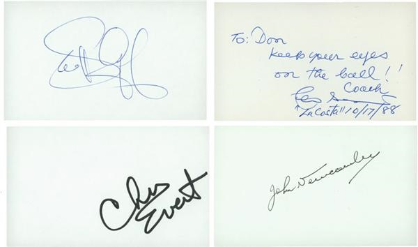 Tennis Greats Signed 3x5