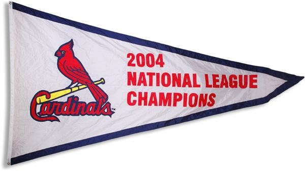 2004 St Louis Cardinals National Champions Stadium Banner