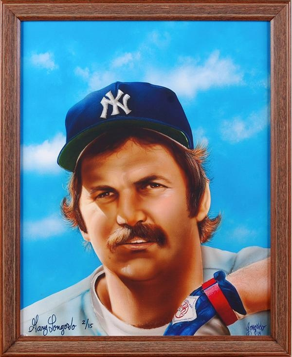 Thurman Munson Yankees Giclee