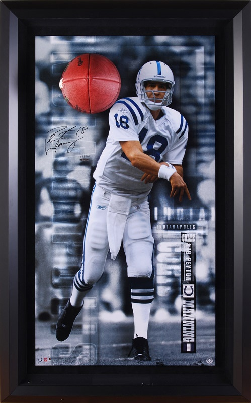 Peyton Manning Signed Large