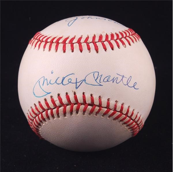 Baseball Autographs - May 2008 Internet Auction
