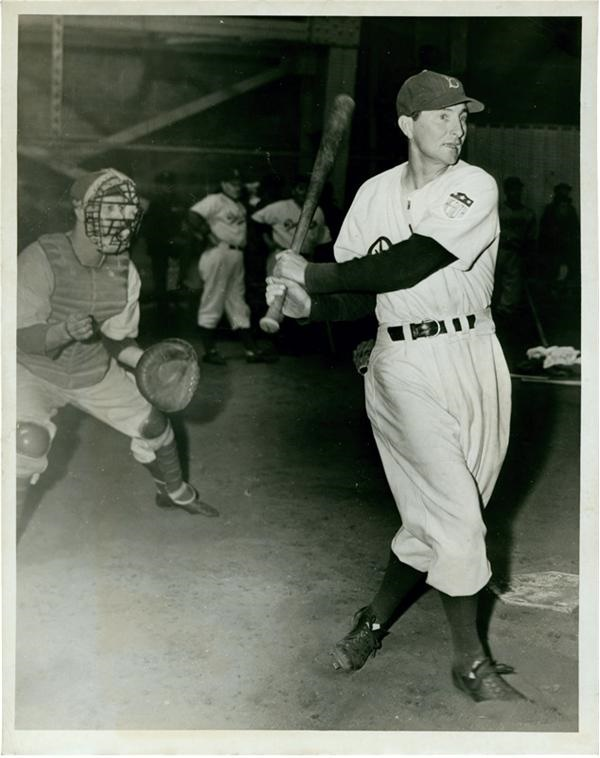 Paul Waner with Brooklyn Dodgers (1943)