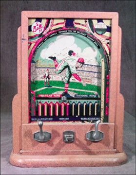 1930's Baseball Coin-Op Machine