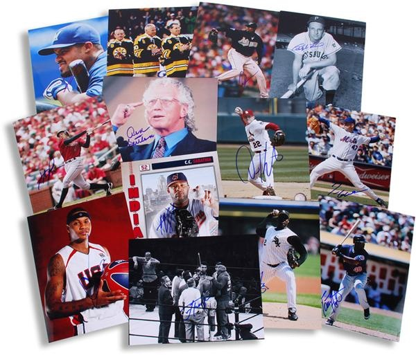 Multi-Sports Signed Photograph Collection (700)