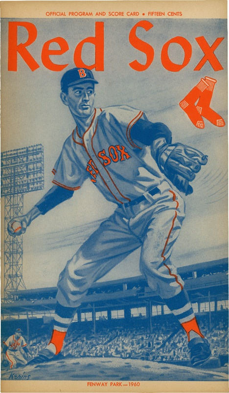 Ted Williams' Last Game and Last Homerun Program
