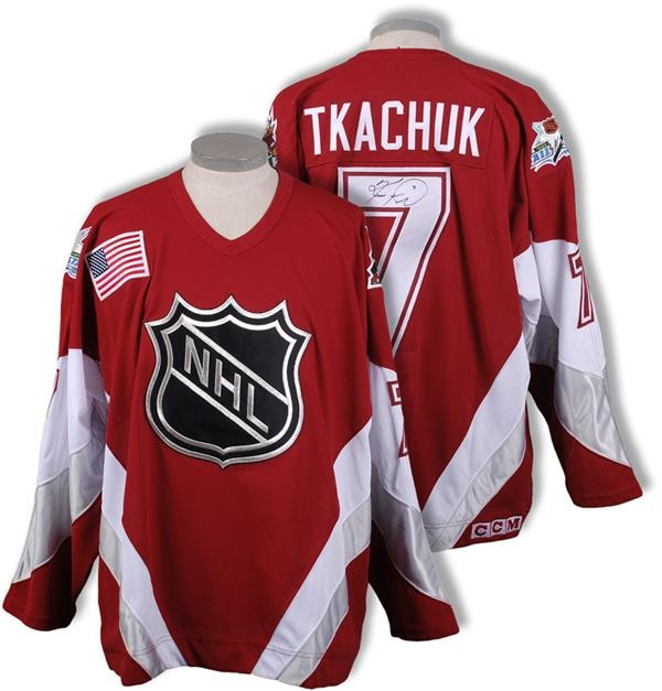 1999 Keith Tkachuk NHL All-Star Game Worn Jersey