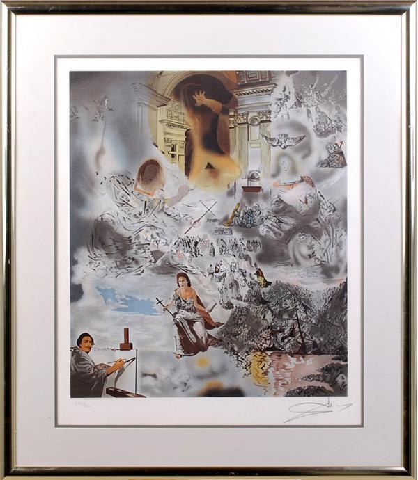Salvador Dali Signed Limited Edition Print