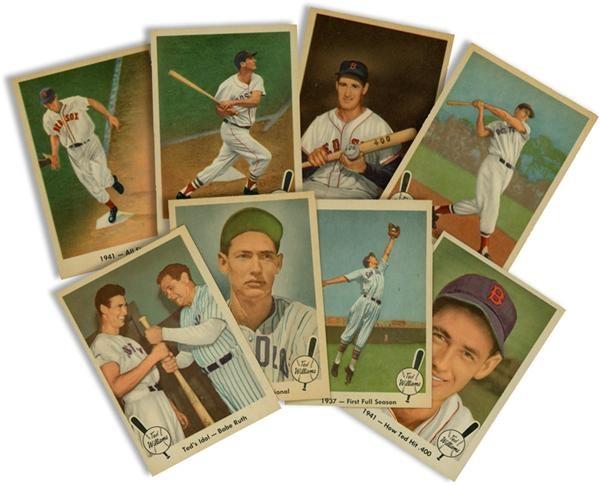 1959 Fleer Ted Williams Baseball Card Set 7980