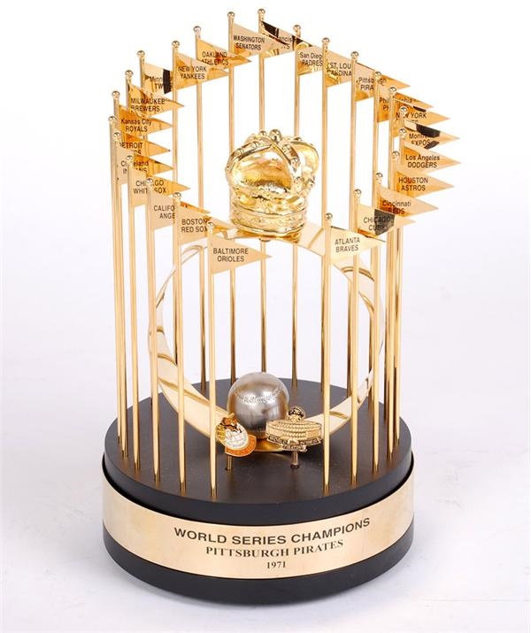 1971 Pittsburgh Pirates World Series Trophy