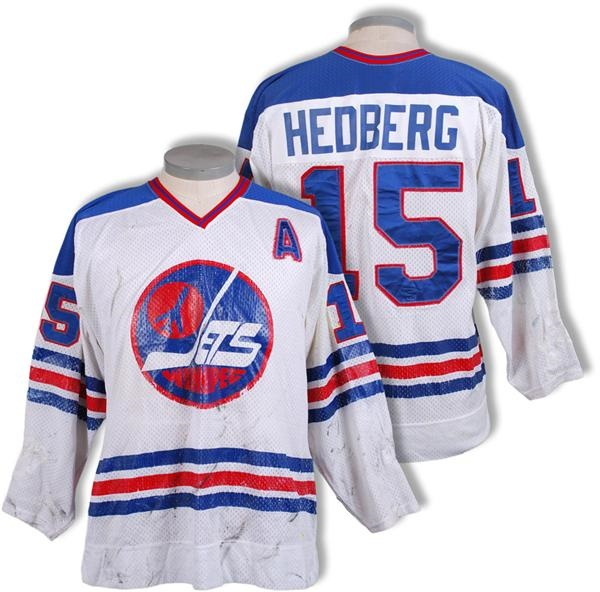 Circa 1977 Anders Hedberg Winnipeg Jets WHA Game Worn Jersey