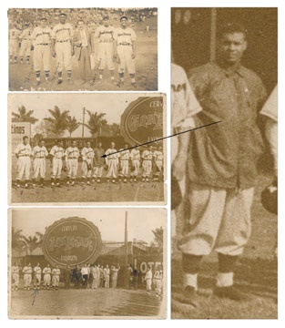 1946 Roy Campanella Mexican League Photographs (3)