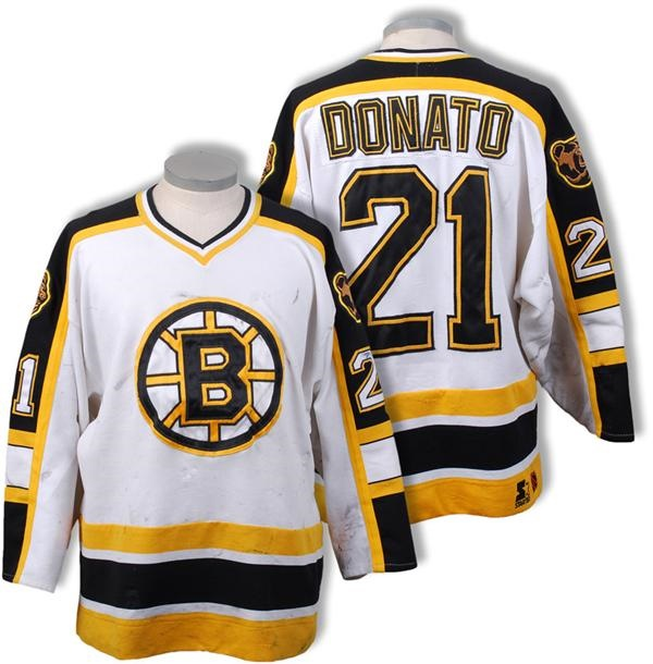 1996-97 Ted Donato Boston Bruins Game Worn Jersey