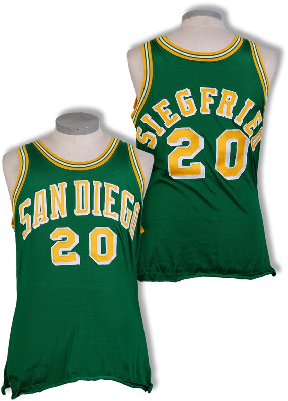 1970-71 Larry Siegfried San Diego Rockets Game Worn Jersey