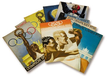 1936 Summer Olympics Official Magazines Collection (10)