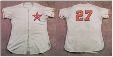 1953 Hollywood Stars Jersey