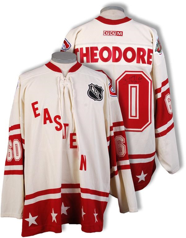 Jose Theodore Game Worn 2004 NHL All-Star Jersey