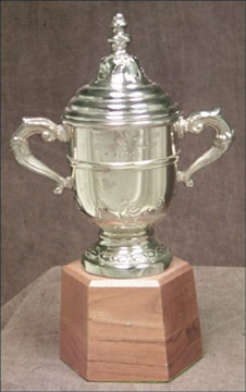 Peter Pocklington's 1982-83 Edmonton Oilers Clarence Campbell Bowl Championship Trophy (11