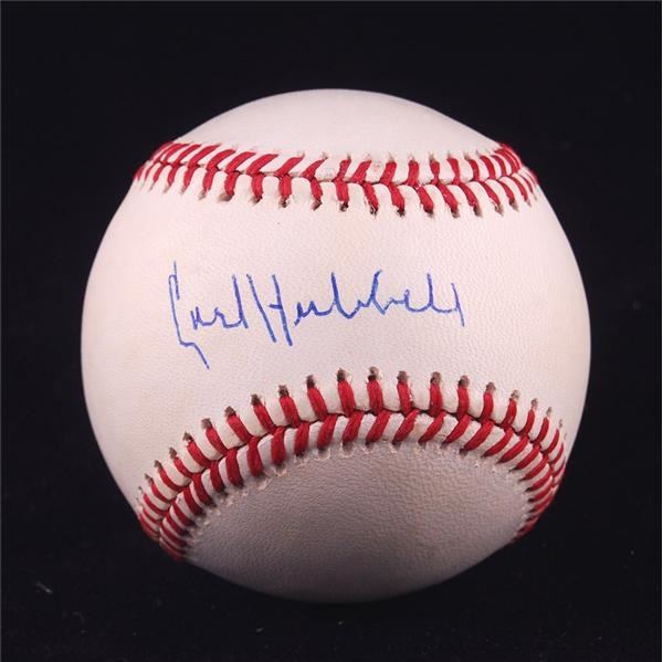 Baseball Autographs - June 2008 Internet Auction