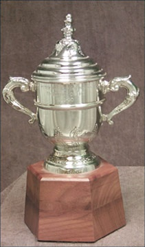 Peter Pocklington's 1989-90 Edmonton Oilers Clarence Campbell Bowl Championship Trophy (11