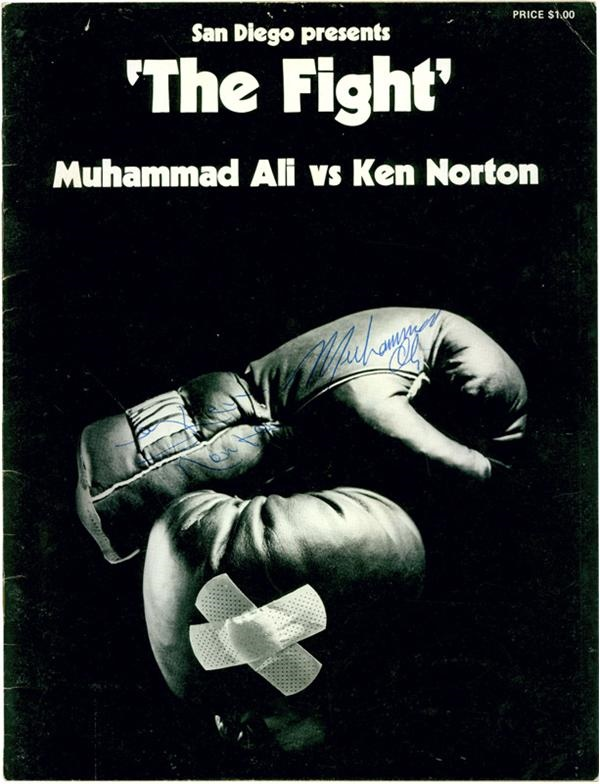 Muhammad Ali & Boxing - June 2008 Internet Auction