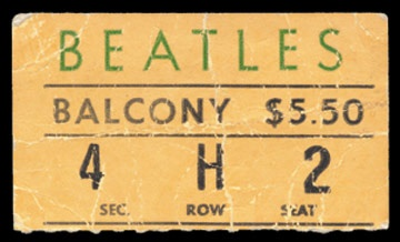 September 15, 1964 Ticket
