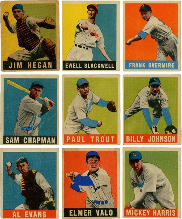 Baseball and Trading Cards - June 2008 Internet Auction