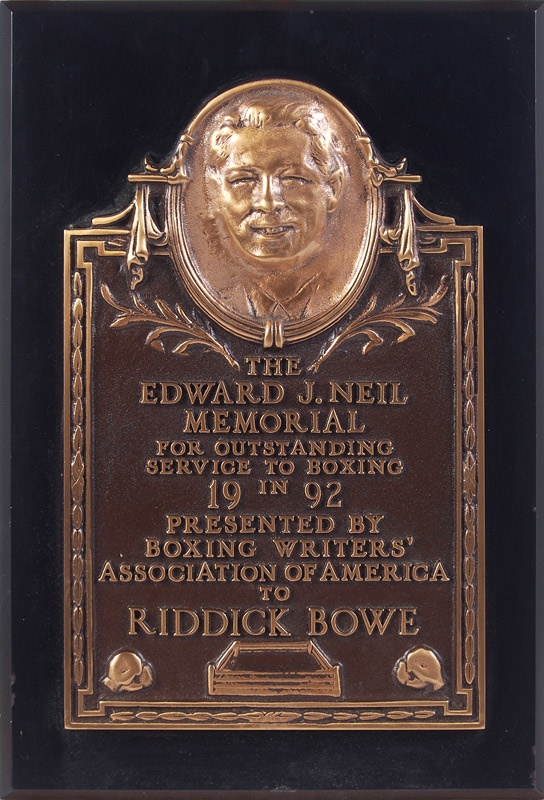 Riddick Bowe - November 2008 Catalogue
