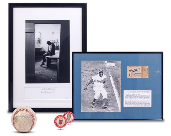 Jackie Robinson & Brooklyn Dodgers - November 2008 Catalogue