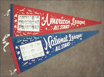 1965 All-Star Teams Pennant Set (2)