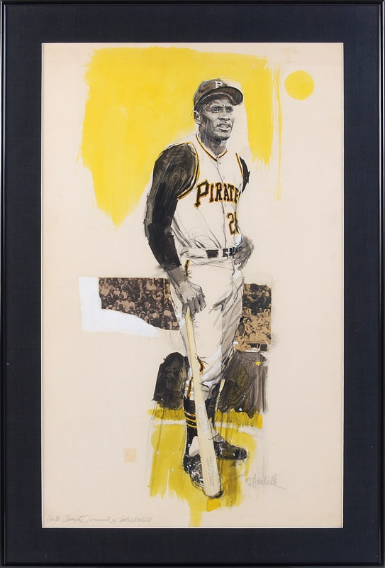 Clemente and Pittsburgh Pirates - November 2008 Catalogue