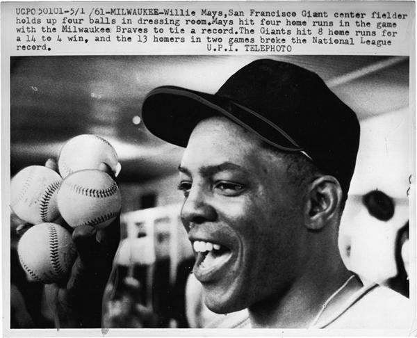 Willie Mays - November 2008 Catalogue