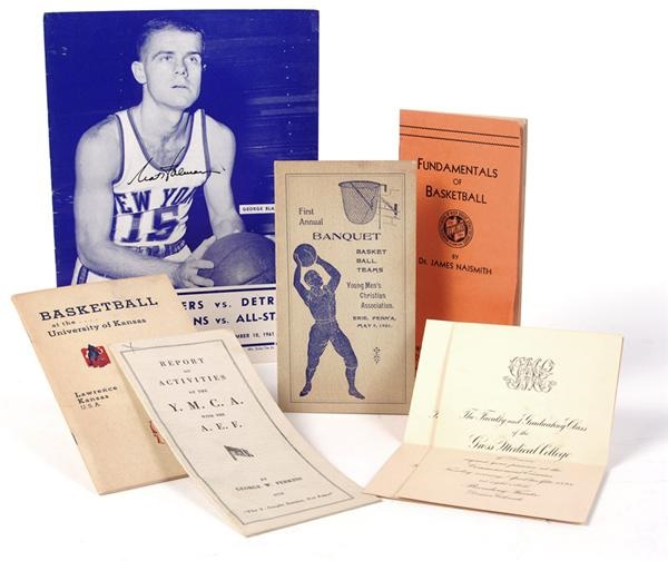 The Dr. James Naismith Collection - November 2008 Catalogue