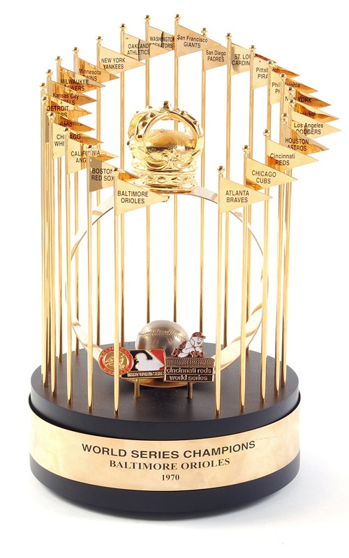1970 Baltimore Orioles World Series Trophy
