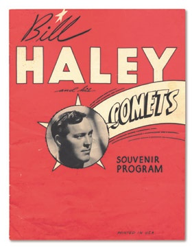Bill Haley and the Comets Concert Program