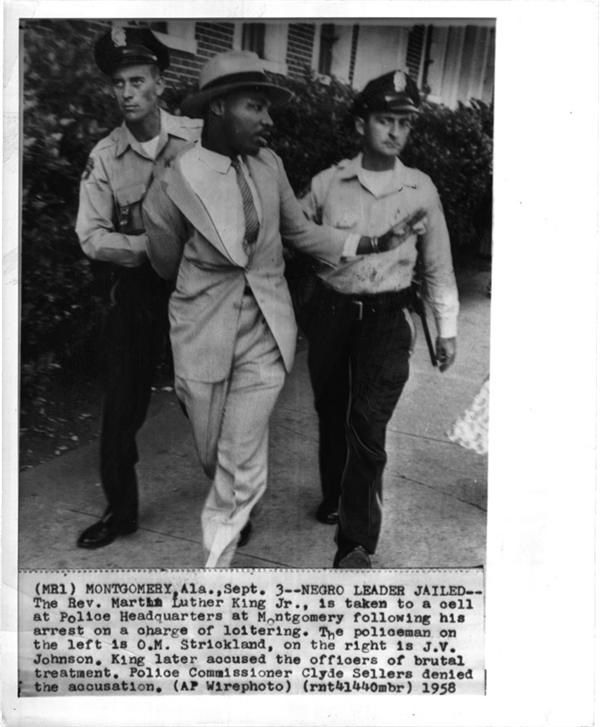 MLK Arrested