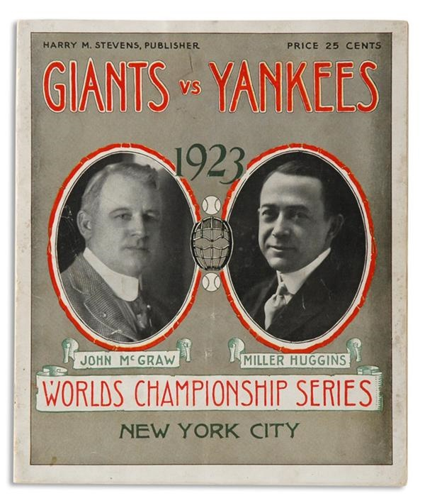 NY Yankees, Giants & Mets - June 2009 Catalogue